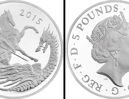 Prince George's second birthday to be celebrated with release of commemorative silver £5 coin depicting St George and the dragon