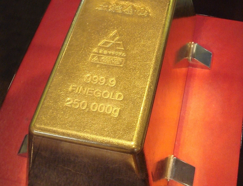 The Largest Gold Bar